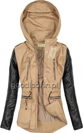 PARKA BH FOREVER BEŻOWA (1406)